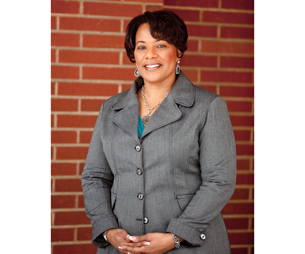 Portrait of Reverend Bernice King at SPU