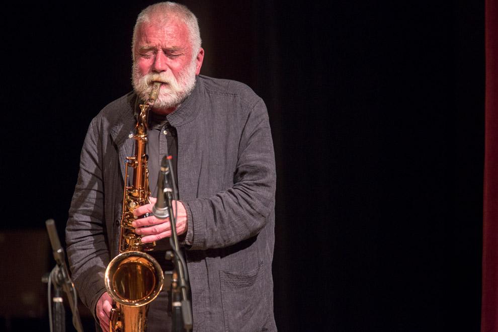 Peter Brötzmann Trio with William Parker & Hamid Drake Jazz photos