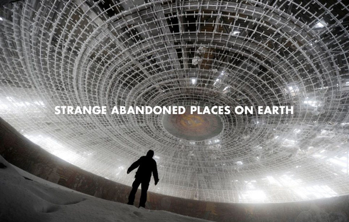 Strange abandoned places on Earth