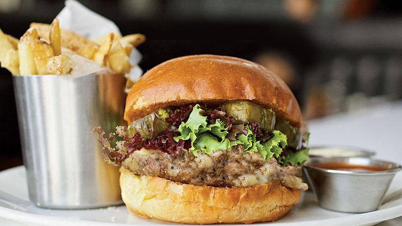 Texas hamburger topping combinations