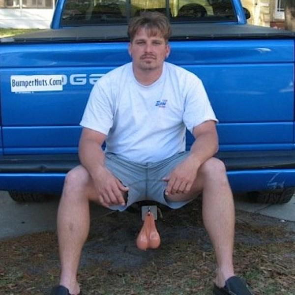 truck balls douche