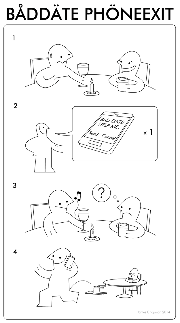 IKEA instructions for bad dates