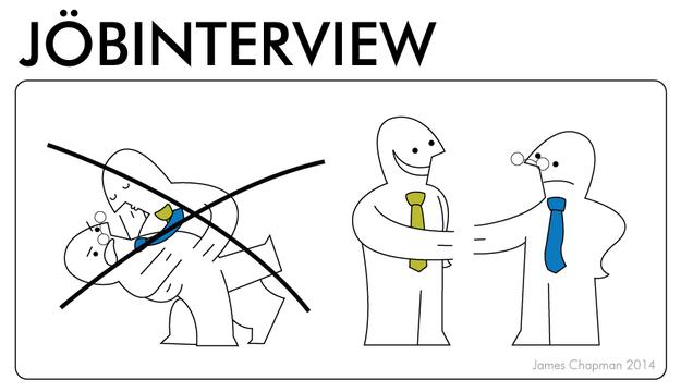 IKEA instructions for job interviews