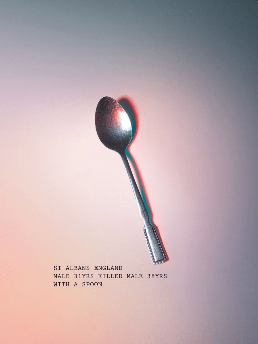 Unconventional murder weapons that were actually used: Spoon