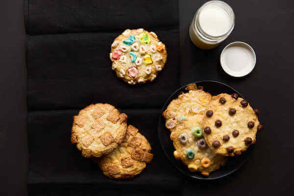 Give your breakfast a makeover with cereal cookies