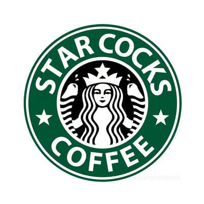Starbucks Penis Logo
