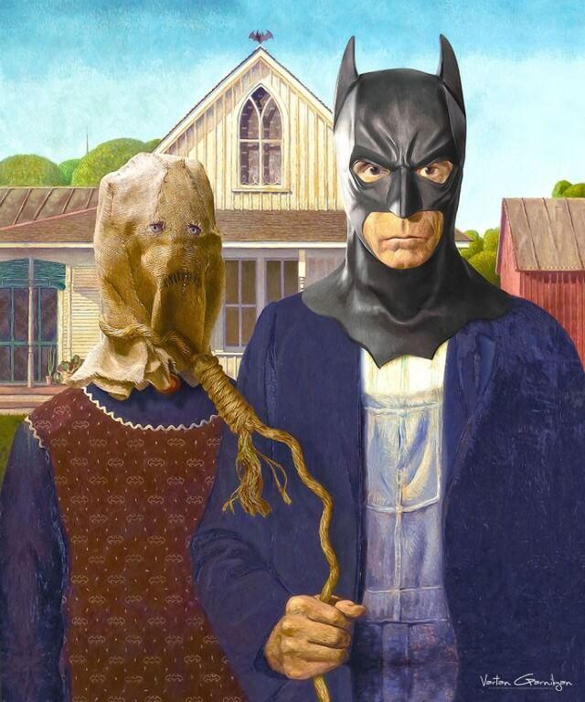 Vartan Garnikyan Batman-themed pop art: American Gotham