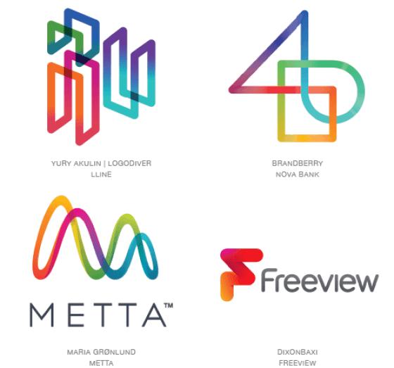 Emerging logo design trends: Chroma Coaster