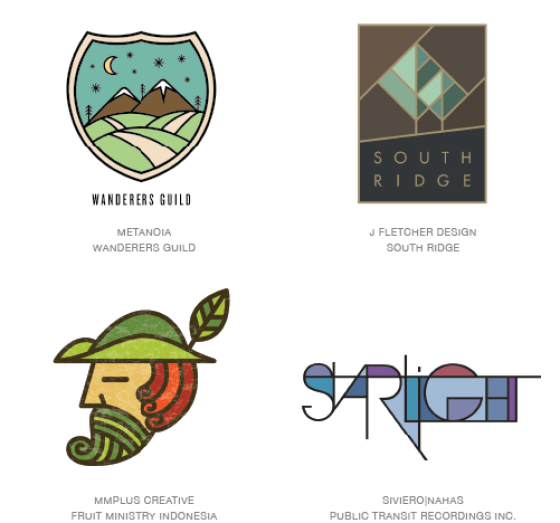 Emerging logo design trends: Colouring styles