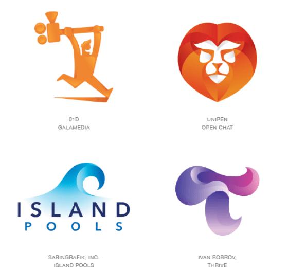 Emerging logo design trends: Contours