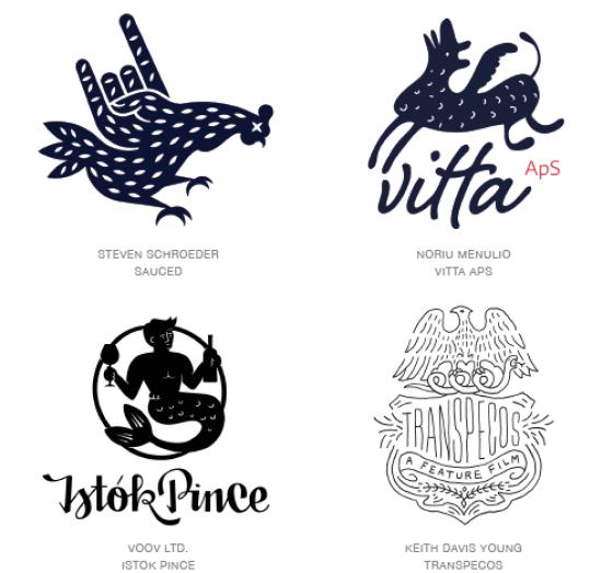 Emerging logo design trends: Naive