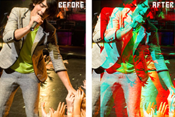 Free Photoshop Actions: Action 3D