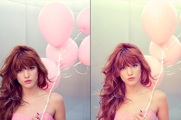 Free Photoshop Actions: Bella Action