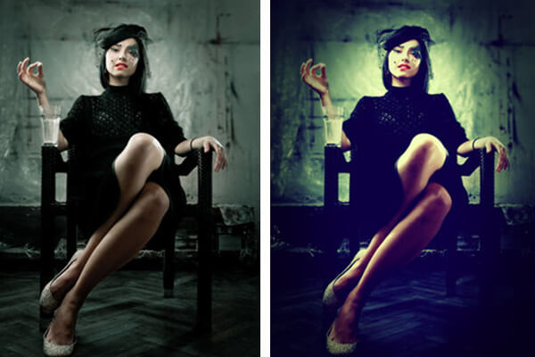Free Photoshop Actions: Hard Lomo Action