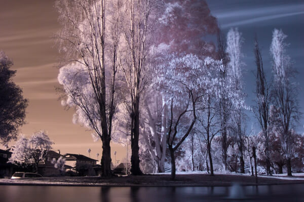 Free Photoshop Actions: InfraRed Photography