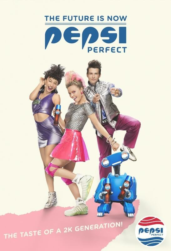 Pepsi comes 'Back to the Future' with Pepsi Perfect