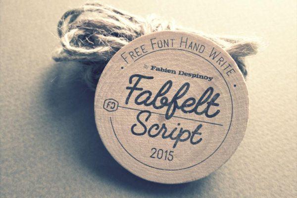 free-typeface-fabfelt-script