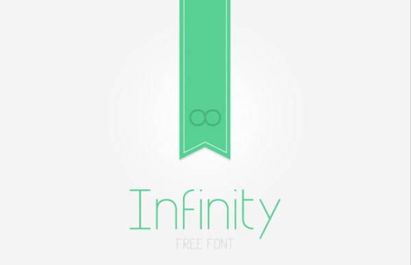 Free font: Infinity