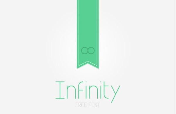 Free font: Infinity