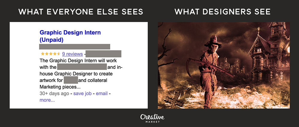 A designer's perspective vs that of non-designers