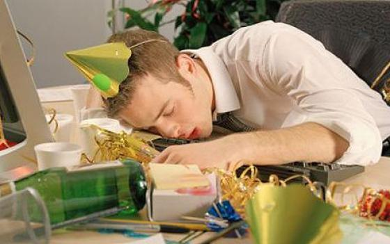 How to survive the office holiday party: Make it to work the next day