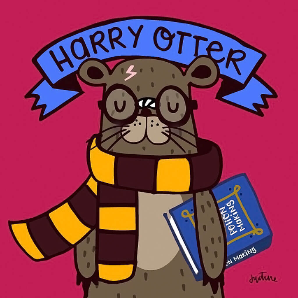 Harry Otter by Justine Morrison