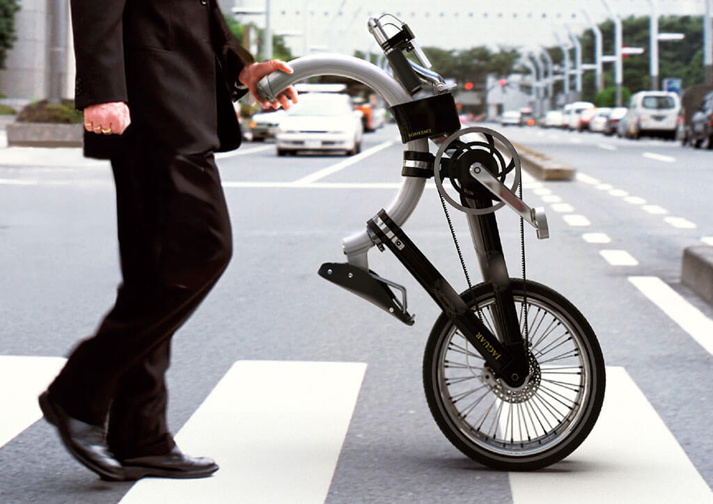 Compact design of the Somerset bicycle