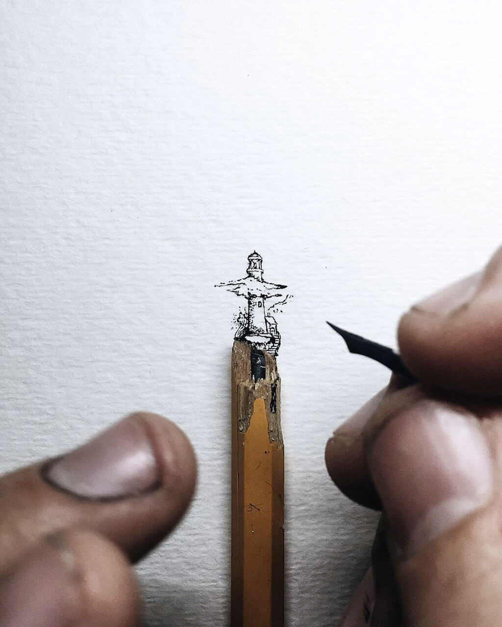 Tiny illustrations by Christian Watson