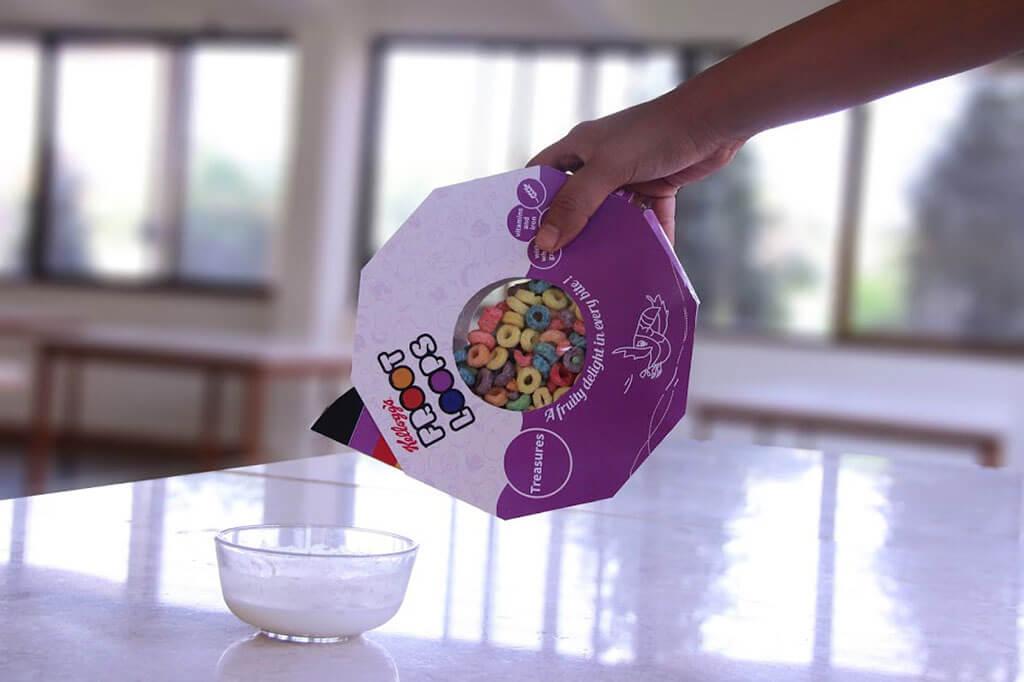 Cereal packaging redesign by Prachi Deshingkar and Shikha Kanakla