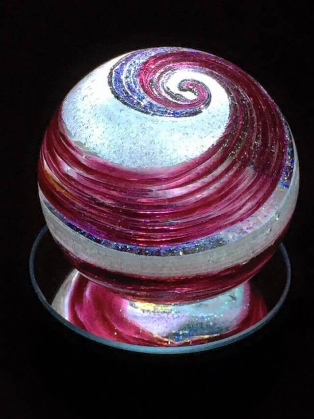 Turn a loved ones ashes into stained glass orbs