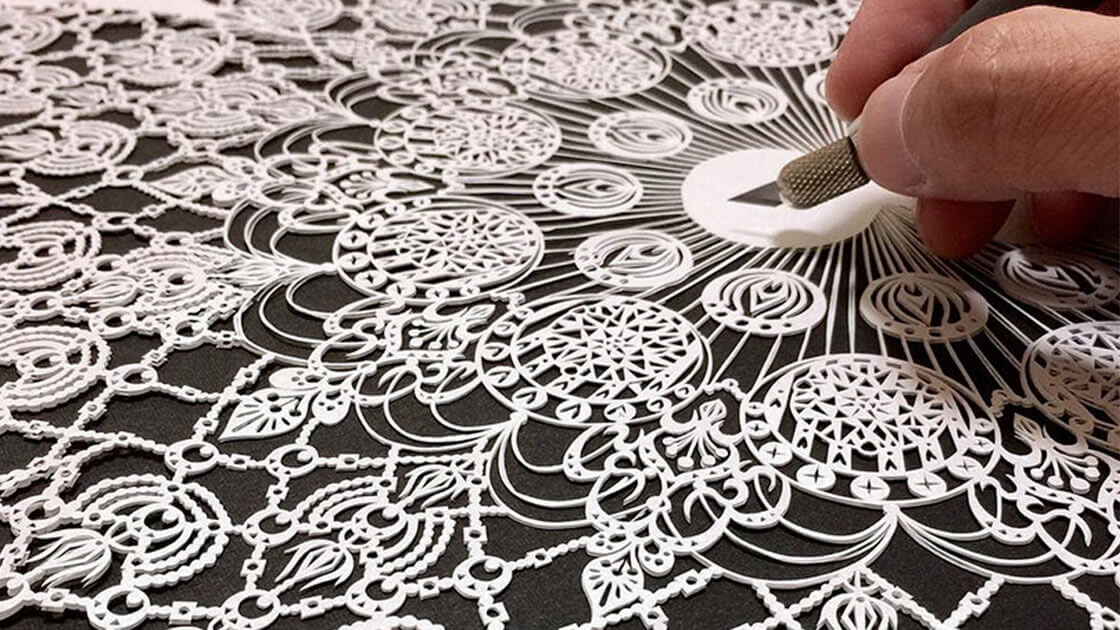 Discover amazingly delicate and detailed hand-cut paper art