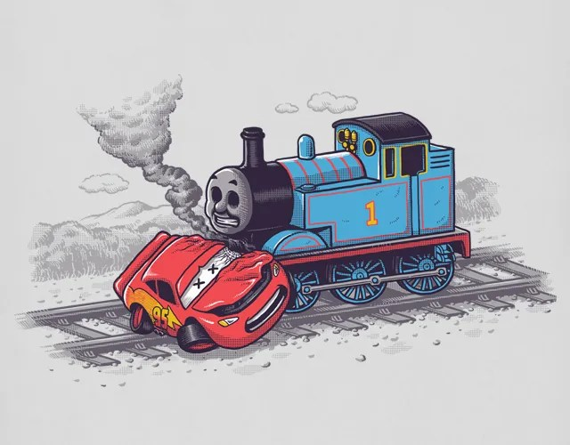 Lightning McQueen & Thomas the Tank-Engine