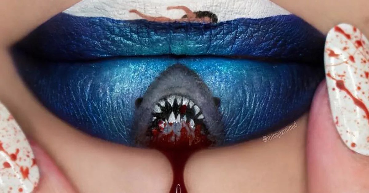 More beautiful lip art from makeup artists