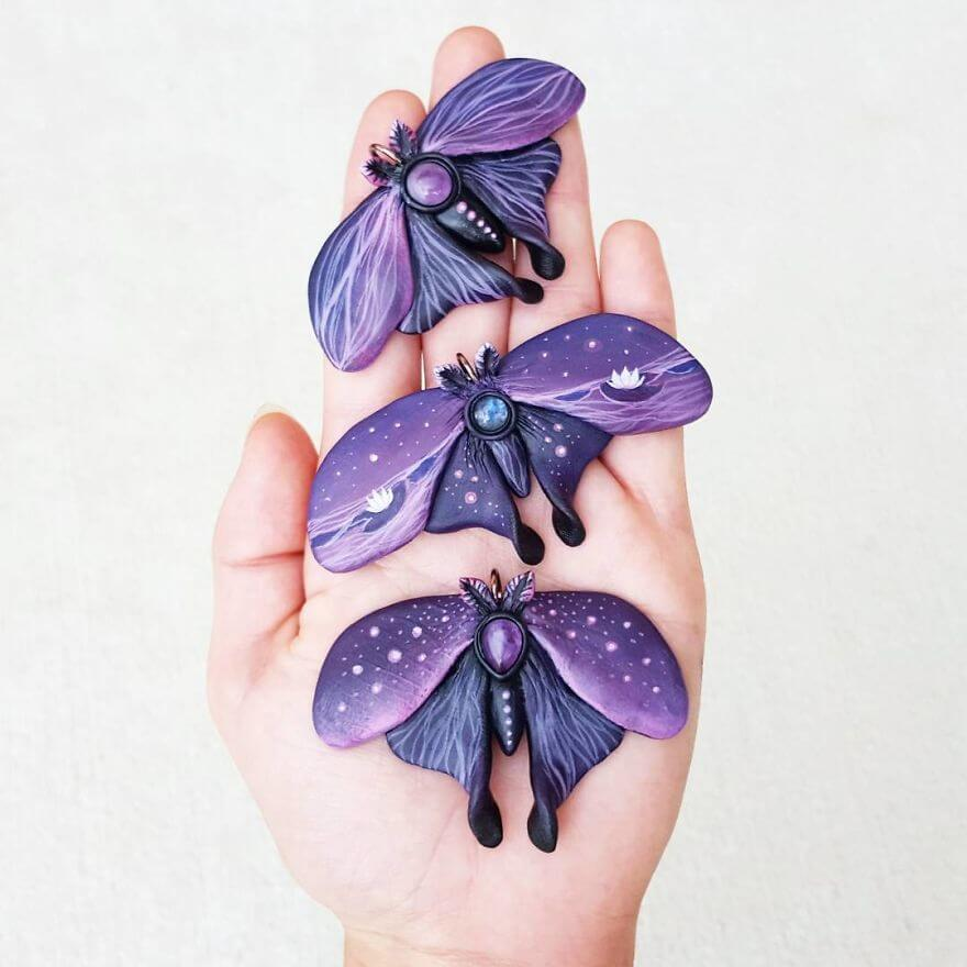 Cheryl Lee's magical forest inspired jewellery
