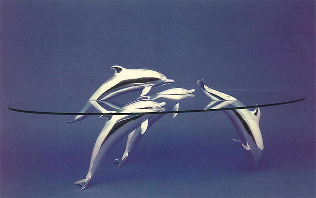 Dolphin Water Table