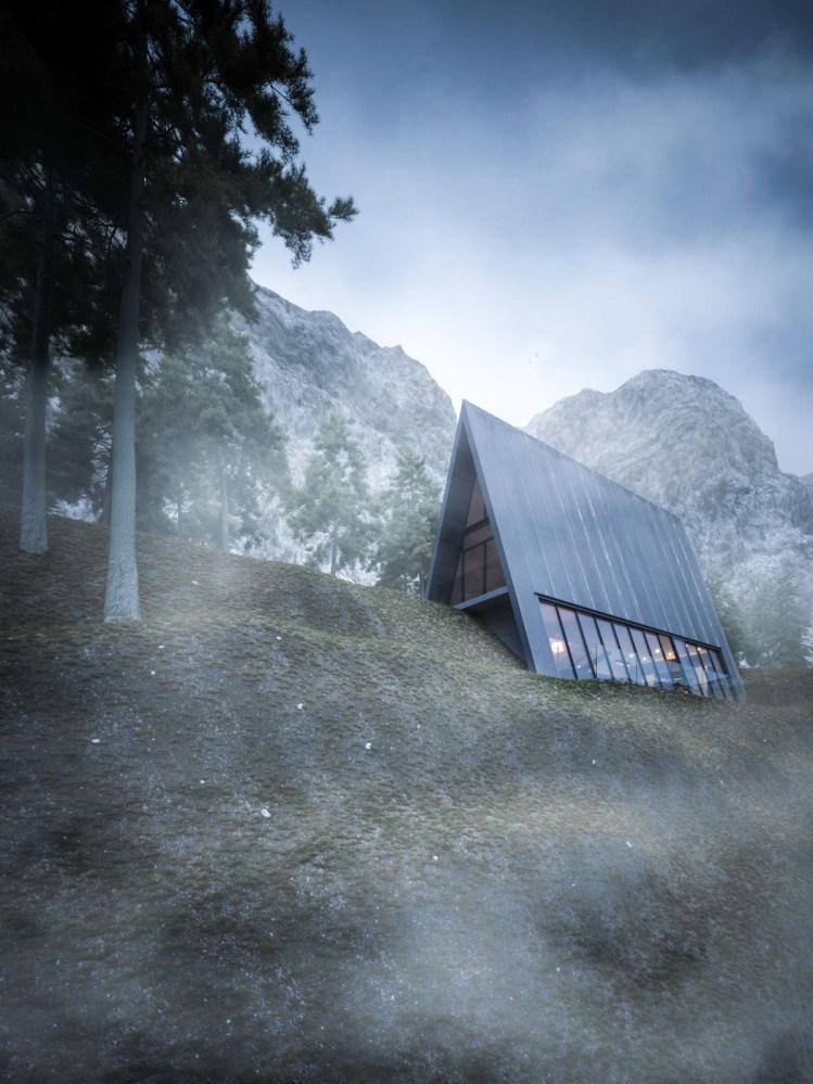 triagle-cliff-house-mountain-cabin-concept-3