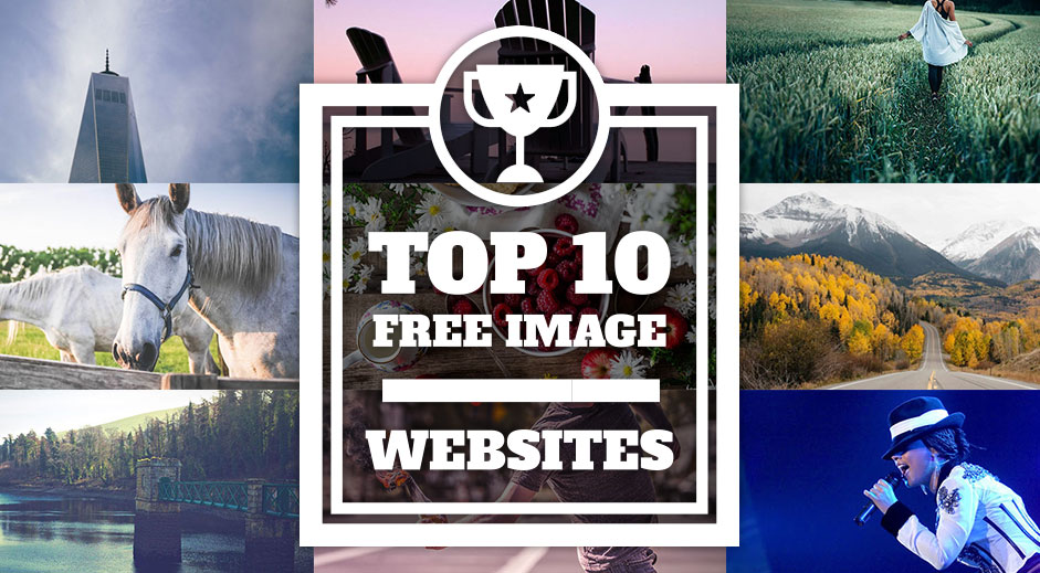 Top 10 websites to get free images