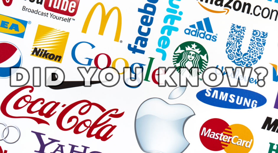 39 things you didn't know about the world's favourite brands