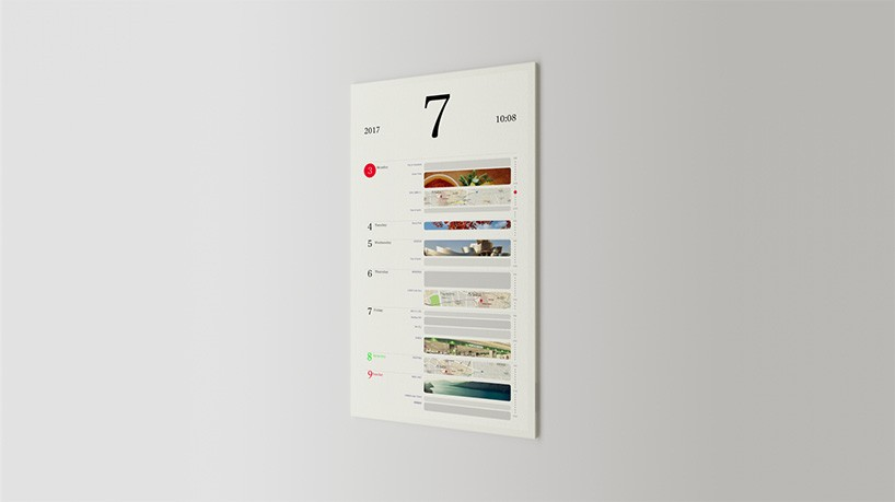 Magic Calendar looks like paper but works like an app