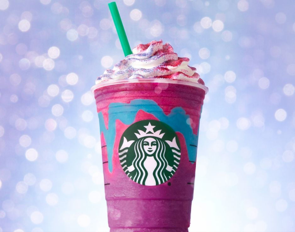 Starbucks debuts colour and flavour changing Unicorn Frappuccino