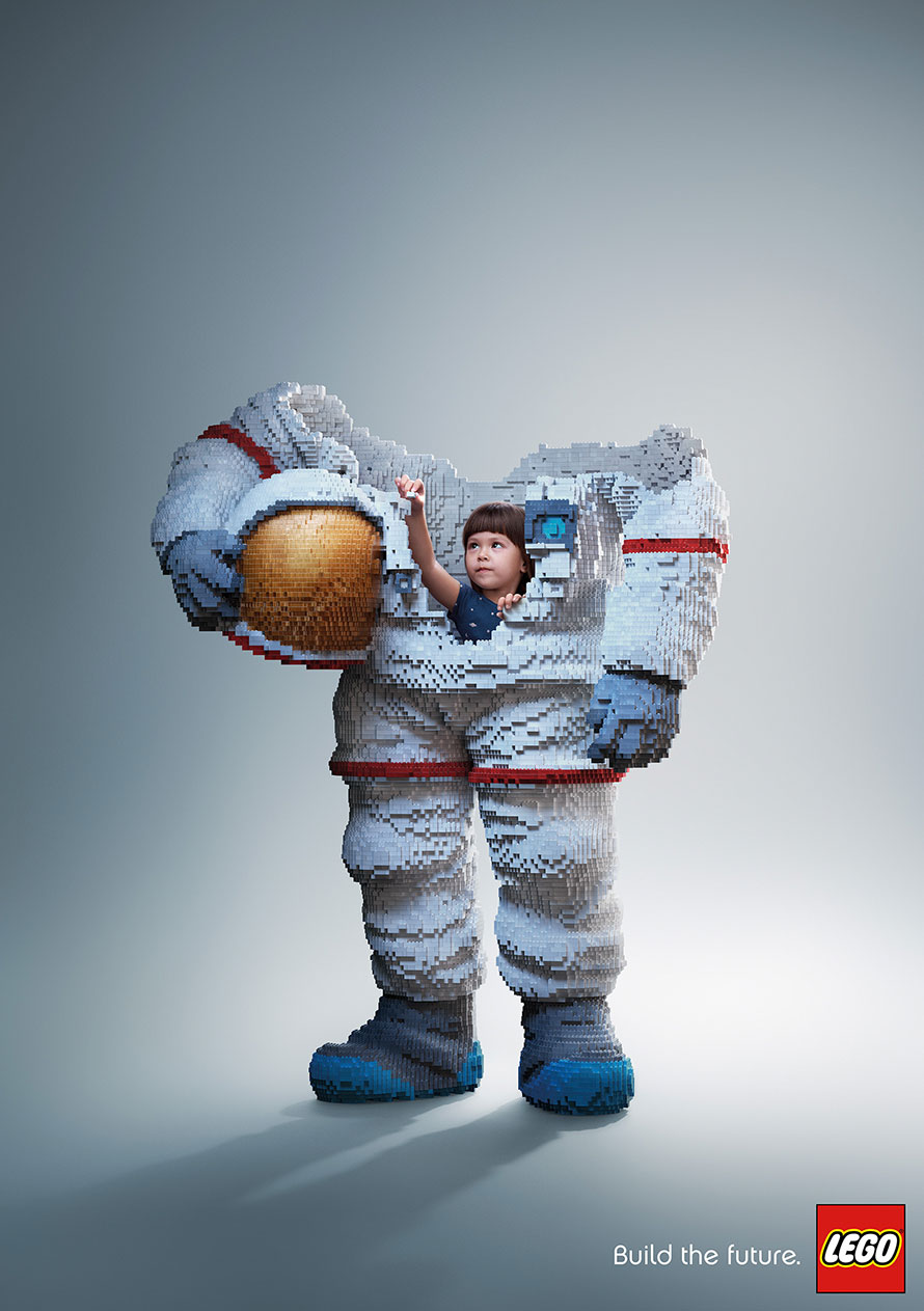 LEGO builds its way to award-winning campaign at Cannes festival with 'Astronaut'