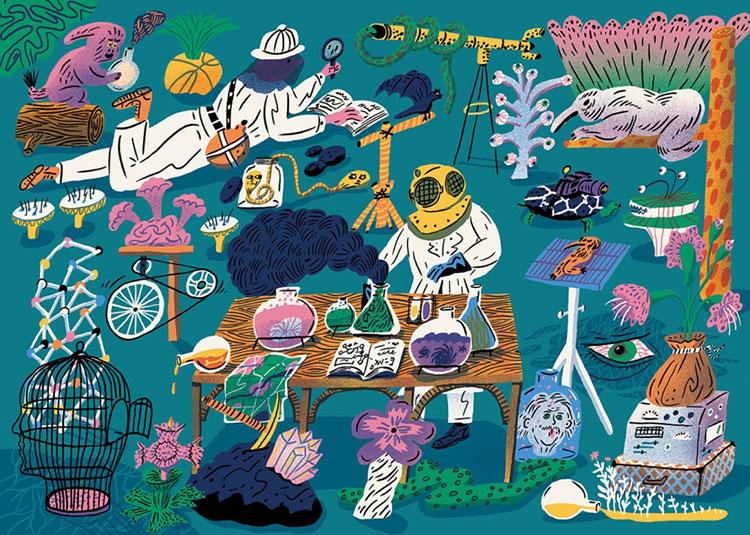 Winners of the World Illustration Awards 2017: Aart-Jan Venema