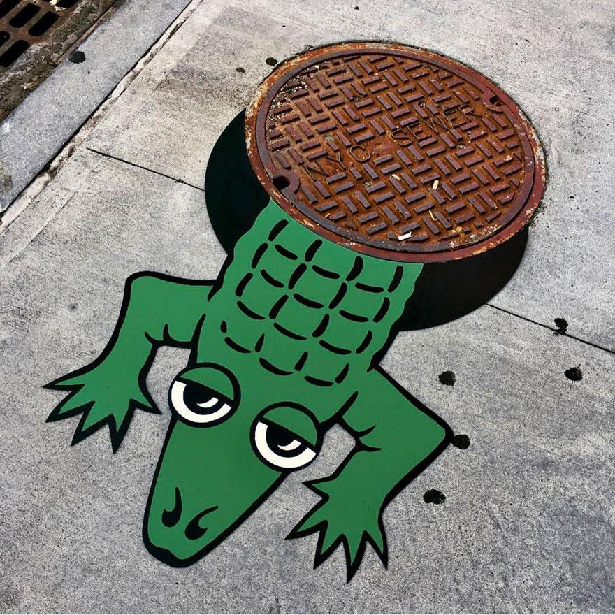 Tom Bob street art creations are taking over New York