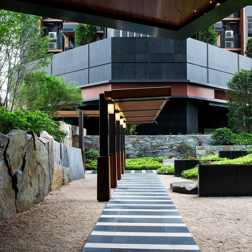 A' Design Award winner: The Pavilia Hill Premium Condominium Landscape by Shunmyo Masuno