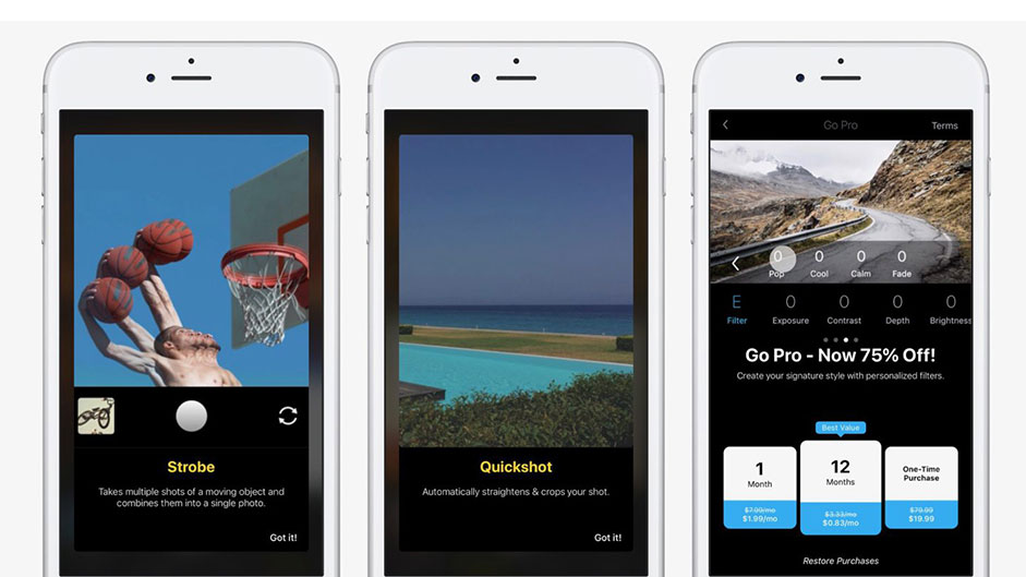 Quickshot photo app help you shoot better photos