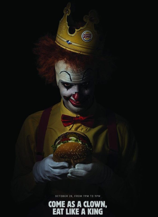 Clowns: Scary Clown Night at Burger King