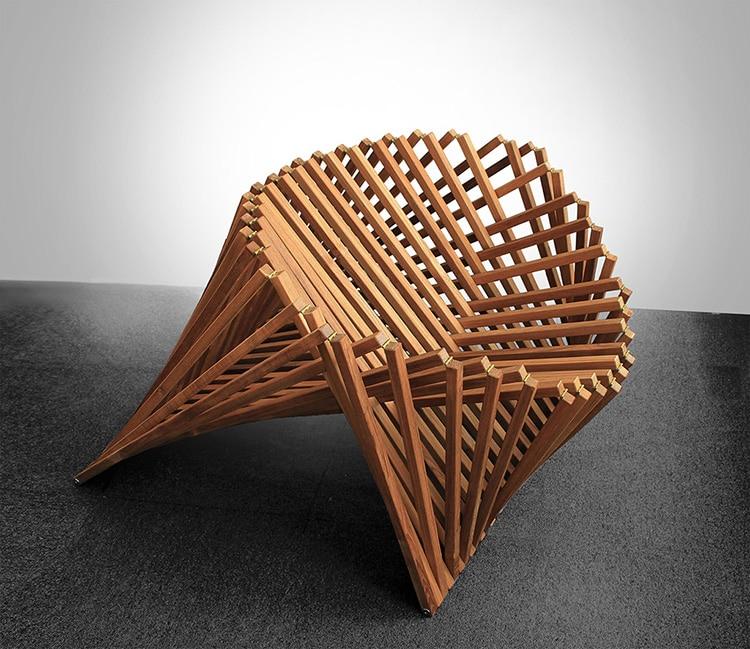 Robert van Embricqs' Rising Furniture