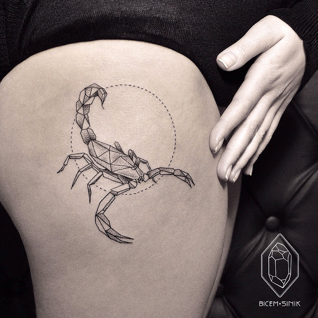 Scorpio Zodiac inspired tattoos to reflect your personality