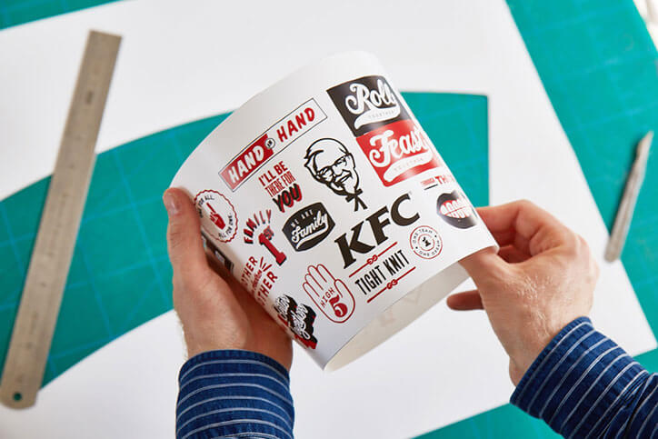 KFC launches festive bucket designs created by 5 artist collectives