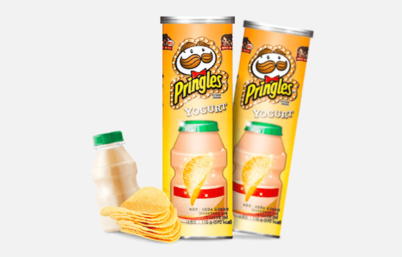 Yogurt flavoured Pringles
